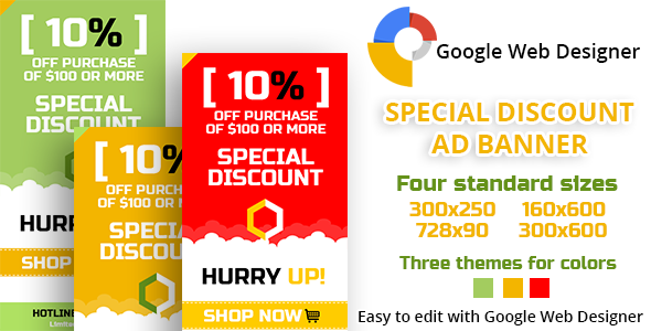 CodeCanyon Special Discount Ad Banner 10902218