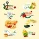 Cooking Emblems Set - GraphicRiver Item for Sale