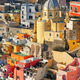 Italy. Procida island. Colorful houses of Corricella - PhotoDune Item for Sale