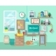 Workplace In Room - GraphicRiver Item for Sale