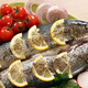 prepared trout fish with lemon and vegetables - PhotoDune Item for Sale