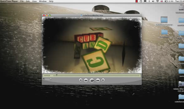 TutsPlus Choreograph with the Cube Dance Custom Effect 135459