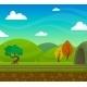 Railway Landscape Illustration - GraphicRiver Item for Sale