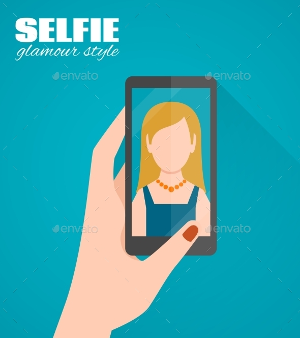 GraphicRiver Selfie Flat Poster 10903595