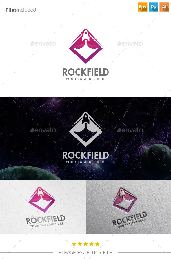 GraphicRiver Rocket Logo 10903800