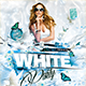 Flyer White Party Konnekt - GraphicRiver Item for Sale