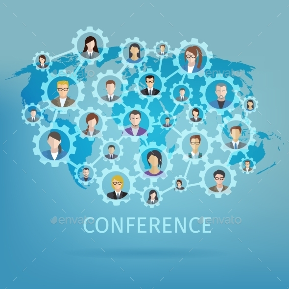 GraphicRiver Business Conference Concept 10904484