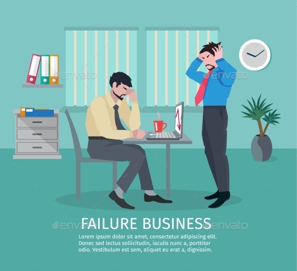 GraphicRiver Failure Business Concept 10904541