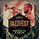 Jazz Event Flyer / Poster Vol.4 - GraphicRiver Item for Sale