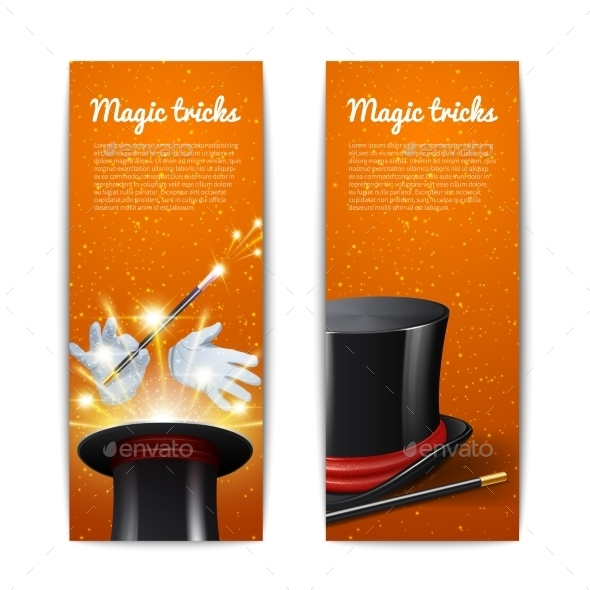 GraphicRiver Magic Banners Set 10904656