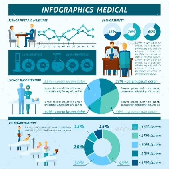 GraphicRiver Doctor Infographic Set 10904676