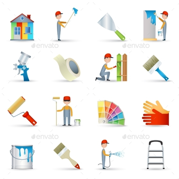 GraphicRiver Painter Symbols 10904726