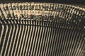 closeup of old typewriter letters - PhotoDune Item for Sale