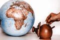 Money box with globe of world - PhotoDune Item for Sale