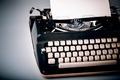 paper in typewriter - PhotoDune Item for Sale