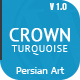 Crown Turquoise - Multipurpose/Single Page/Shop Theme - ThemeForest Item for Sale