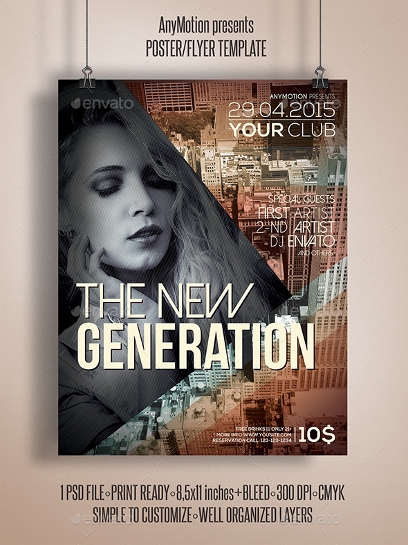 GraphicRiver The Next Generation Flyer Template 10905958