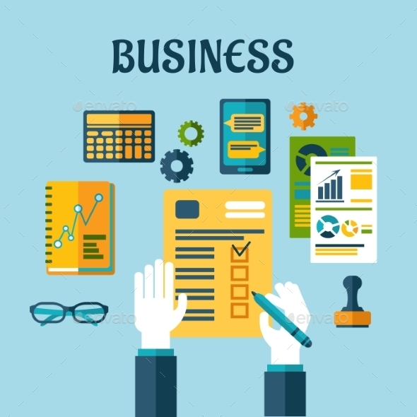 GraphicRiver Business Symbol 10906061