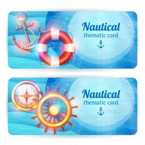GraphicRiver Marine Banners 10906082