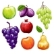 Fruits Icons Set - GraphicRiver Item for Sale