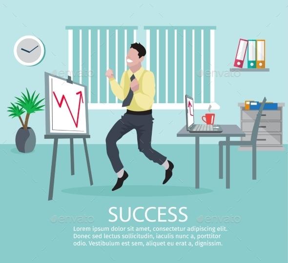 GraphicRiver Successful Business Idea Poster 10906123
