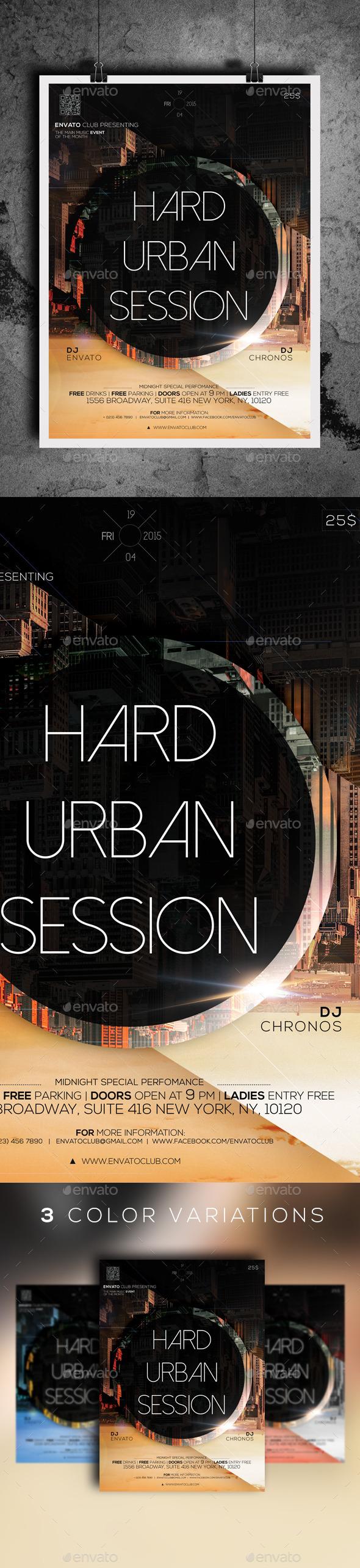 GraphicRiver Hard Urban Session 10906222