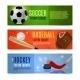Sport Banner Set - GraphicRiver Item for Sale