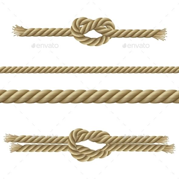 GraphicRiver Ropes Decorative Set 10906308