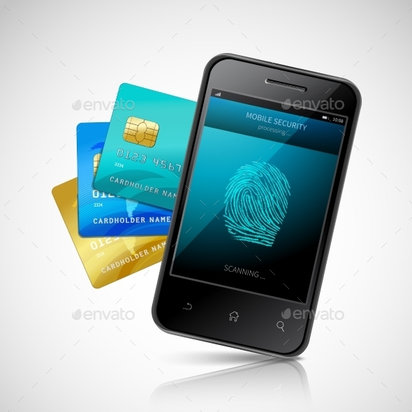 GraphicRiver Biometric Mobile Payment 10906348