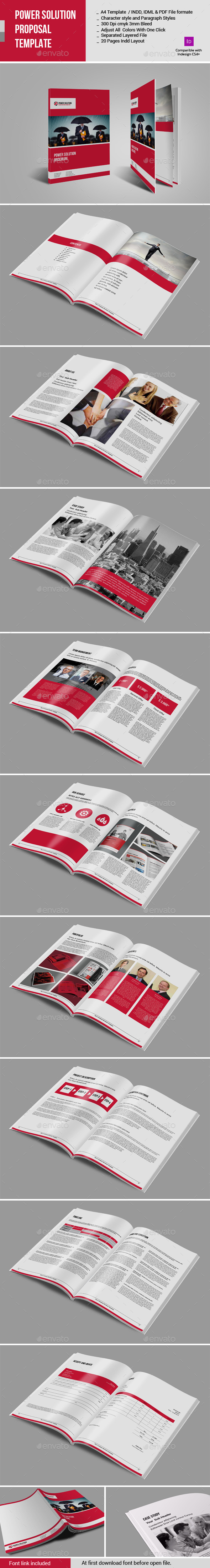 GraphicRiver Power Solution Proposal Template 10906506