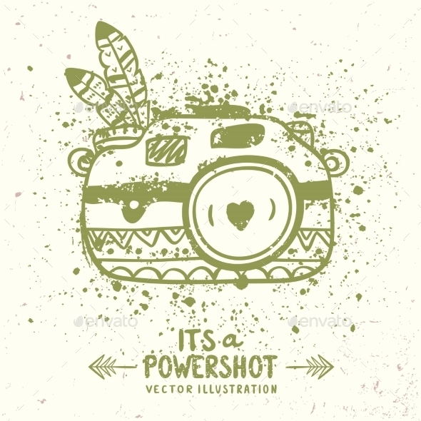 GraphicRiver Grunge Camera 10906644