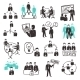 Teamwork Icons Set - GraphicRiver Item for Sale