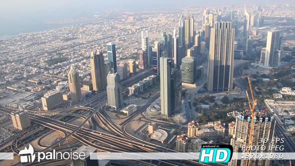 Dubai Panoramic View