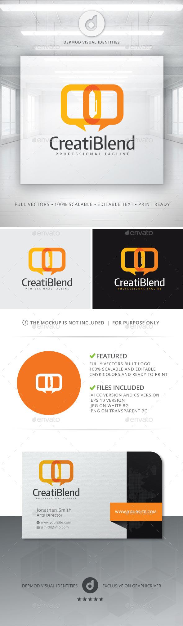 GraphicRiver CreatiBlend Logo 10906743