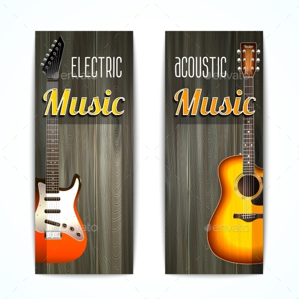 GraphicRiver Music Banner Set 10906744