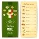 Italian Food Menu - GraphicRiver Item for Sale