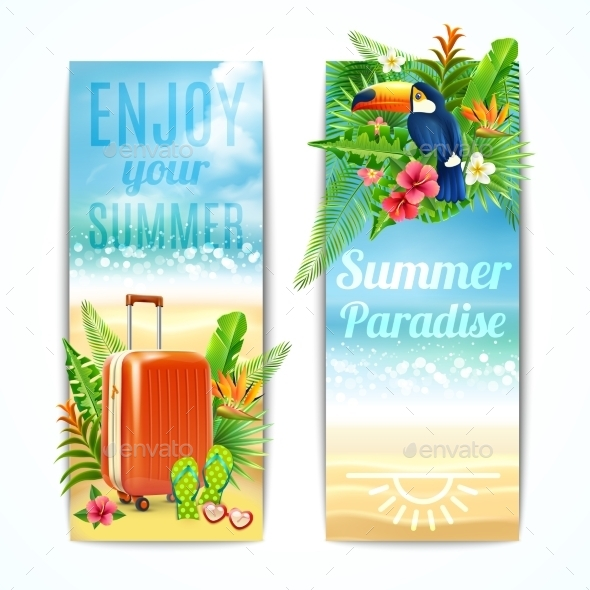 GraphicRiver Travel Banners Set 10906813