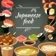 Sushi Food Illustration - GraphicRiver Item for Sale