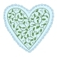 Heart with Leaves - GraphicRiver Item for Sale
