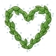 Heart with Leaves. - GraphicRiver Item for Sale