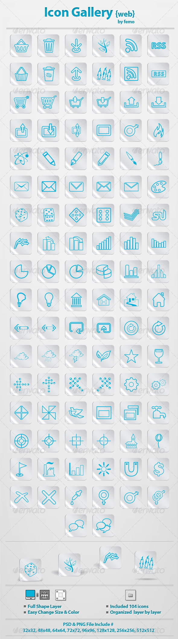 GraphicRiver Icon Gallery {web} 135503