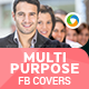 Multipurpose Facebook Covers - 2 Designs - GraphicRiver Item for Sale