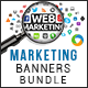 Marketing Banners Bundle - 4 Sets - GraphicRiver Item for Sale