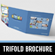 Metro Tri-fold Sales Brochure - GraphicRiver Item for Sale