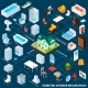 Isometric Interior Infographics - GraphicRiver Item for Sale