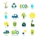Ecology Icons Set - GraphicRiver Item for Sale