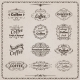 Coffee Emblem Set - GraphicRiver Item for Sale