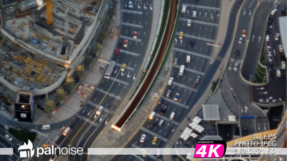 Traffic Cars From Above 01