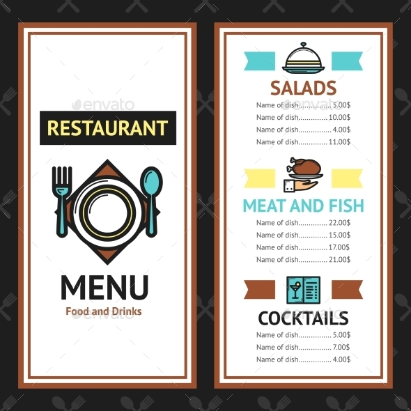 GraphicRiver Restaurant Menu Template 10908403