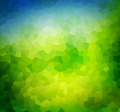 Low poly green nature background, theme. - PhotoDune Item for Sale